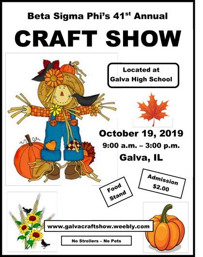 Craft Show Flyer
